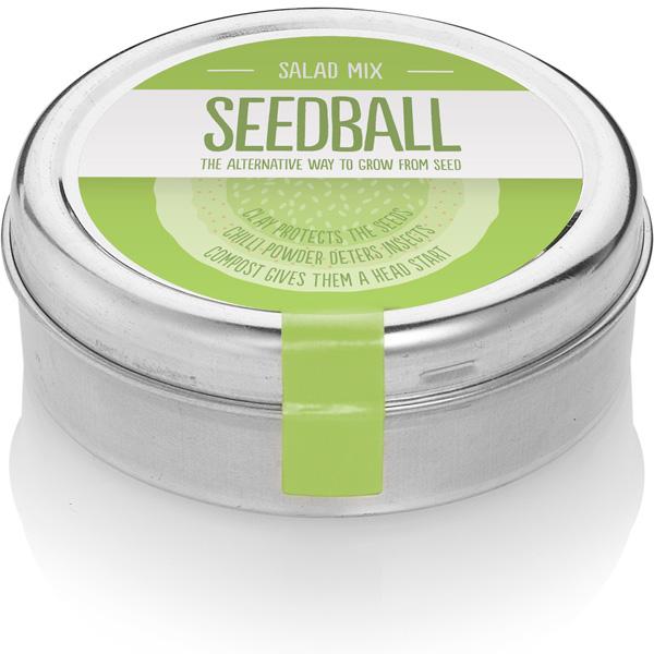 Wildflower Seedball tin - Salad Mix