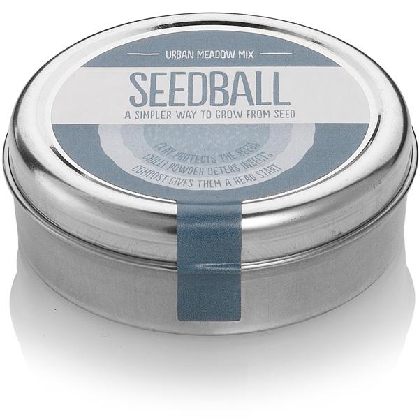 Wildflower Seedball tin - Urban Meadow Mix