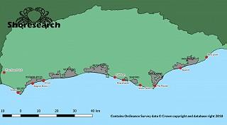 Shoresearch survey locations 2018