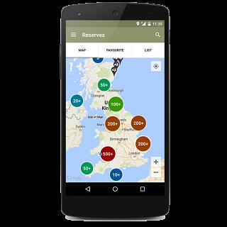 Nature Finder app
